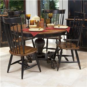 Canadel Champlain - Custom Dining <b>Customizable</b> Table and Chair Set