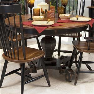 Canadel Champlain - Custom Dining <b>Customizable</b>  Round Dining Table
