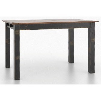 Champlain - Custom Dining Customizable Rect. Counter Table by Canadel at Saugerties Furniture Mart