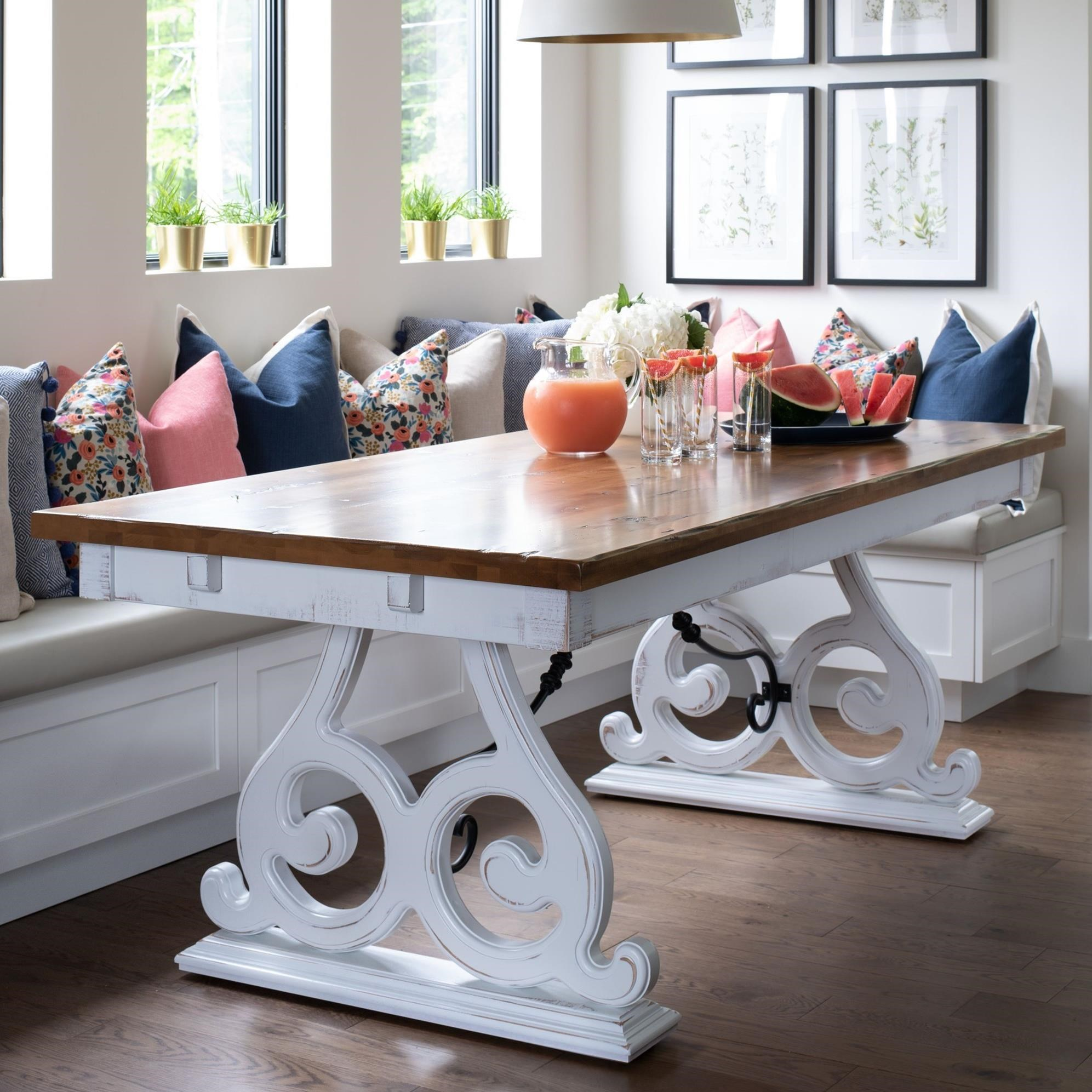 Champlain - Custom Dining Customizable Dining Table by Canadel at Williams & Kay