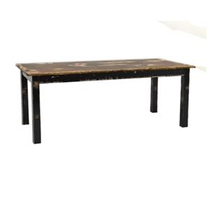 Customizable Traditional Rectangular Dining Table