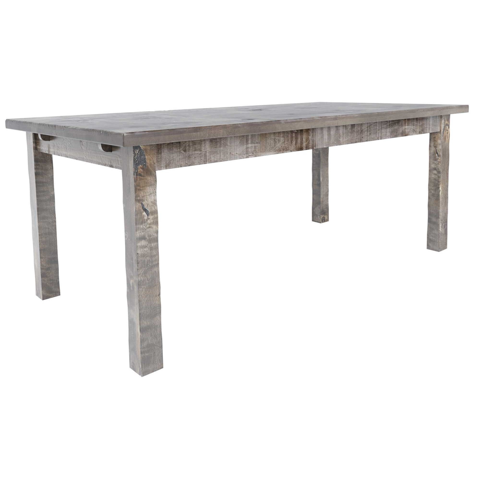 Champlain - Custom Dining Customizable Rectangular Wood Top Table by Canadel at Saugerties Furniture Mart