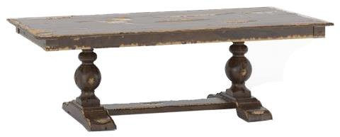 Champlain - Custom Dining Customizable Rectangular Table w/ Trestle by Canadel at Saugerties Furniture Mart