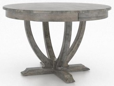 Classic Shadow Dining Table by Canadel at Sprintz Furniture