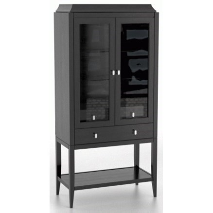Classic Customizable Buffet/Display Cabinet by Canadel at Dinette Depot
