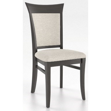 Classic Customizable Side Chair by Canadel at Jordan's Home Furnishings