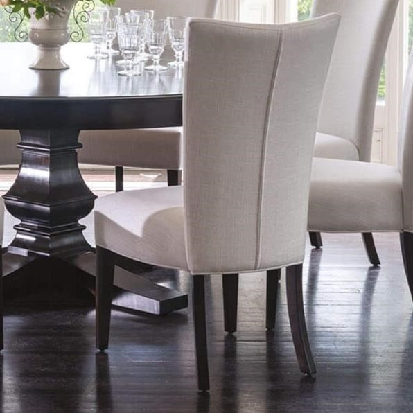 Classic Customizable Upholstered Side Chair by Canadel at Dinette Depot