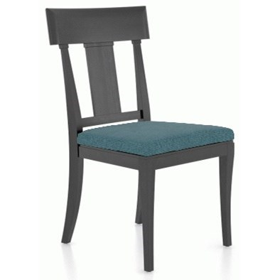 Classic Customizable Upholstered Side Chair by Canadel at Williams & Kay
