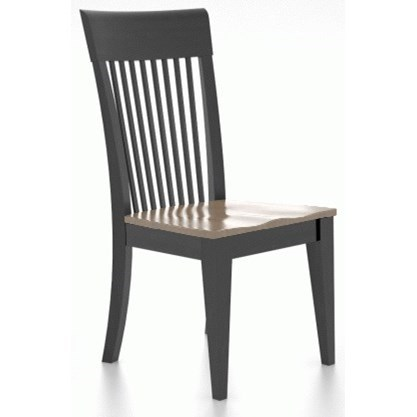 Classic Customizable Dining Side Chair by Canadel at Williams & Kay