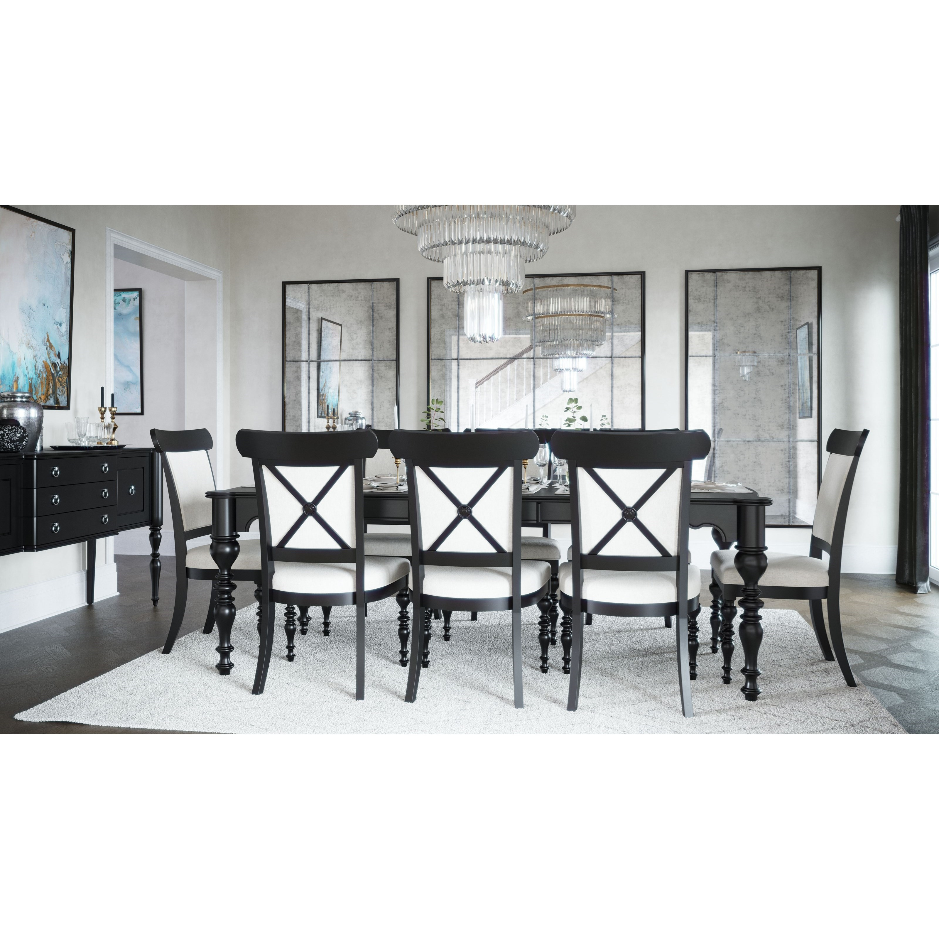 Classic Formal Dining Room Group by Canadel at Steger's Furniture
