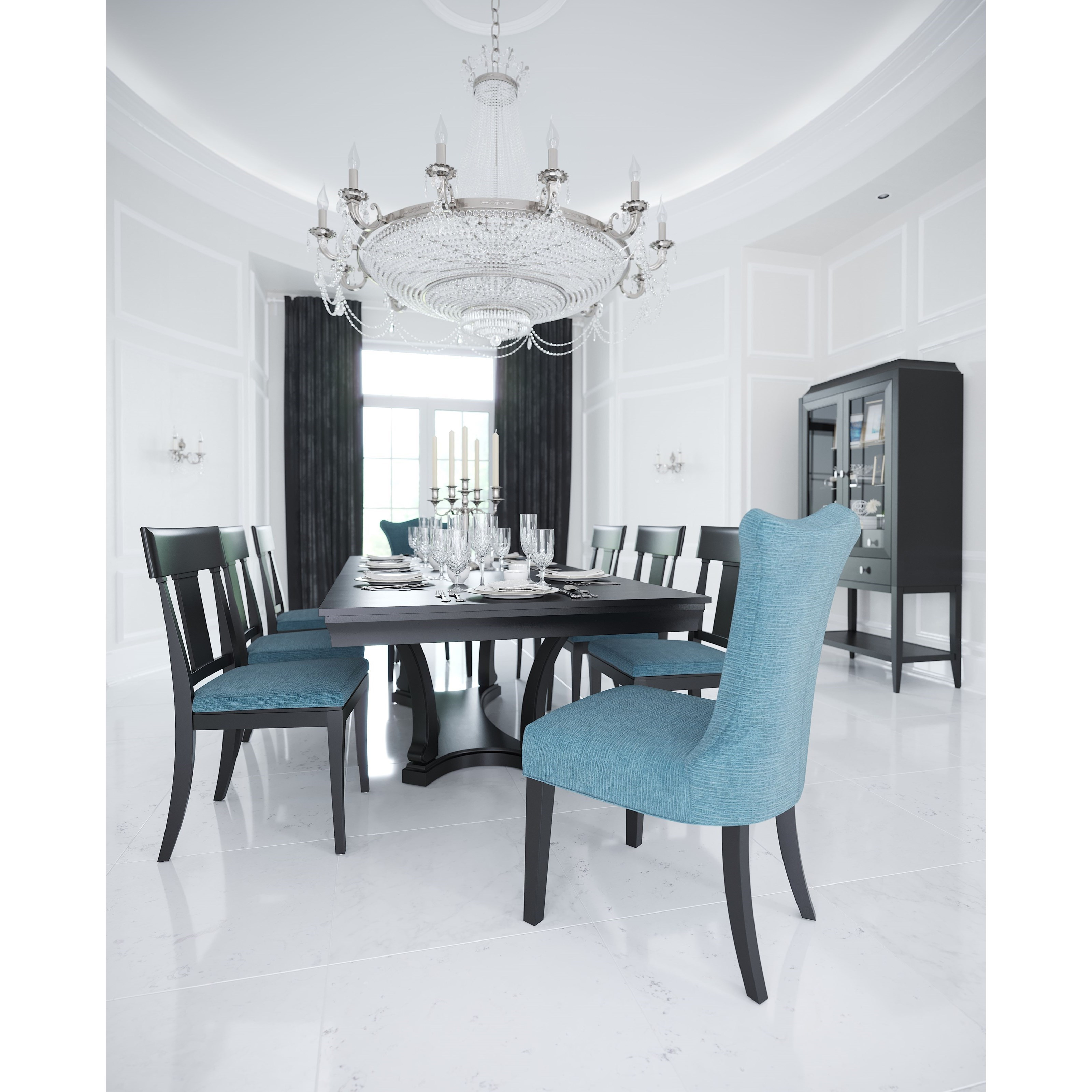 Classic Formal Dining Room Group by Canadel at Dinette Depot