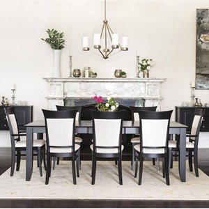 9-Piece Rect. Dining Table Set