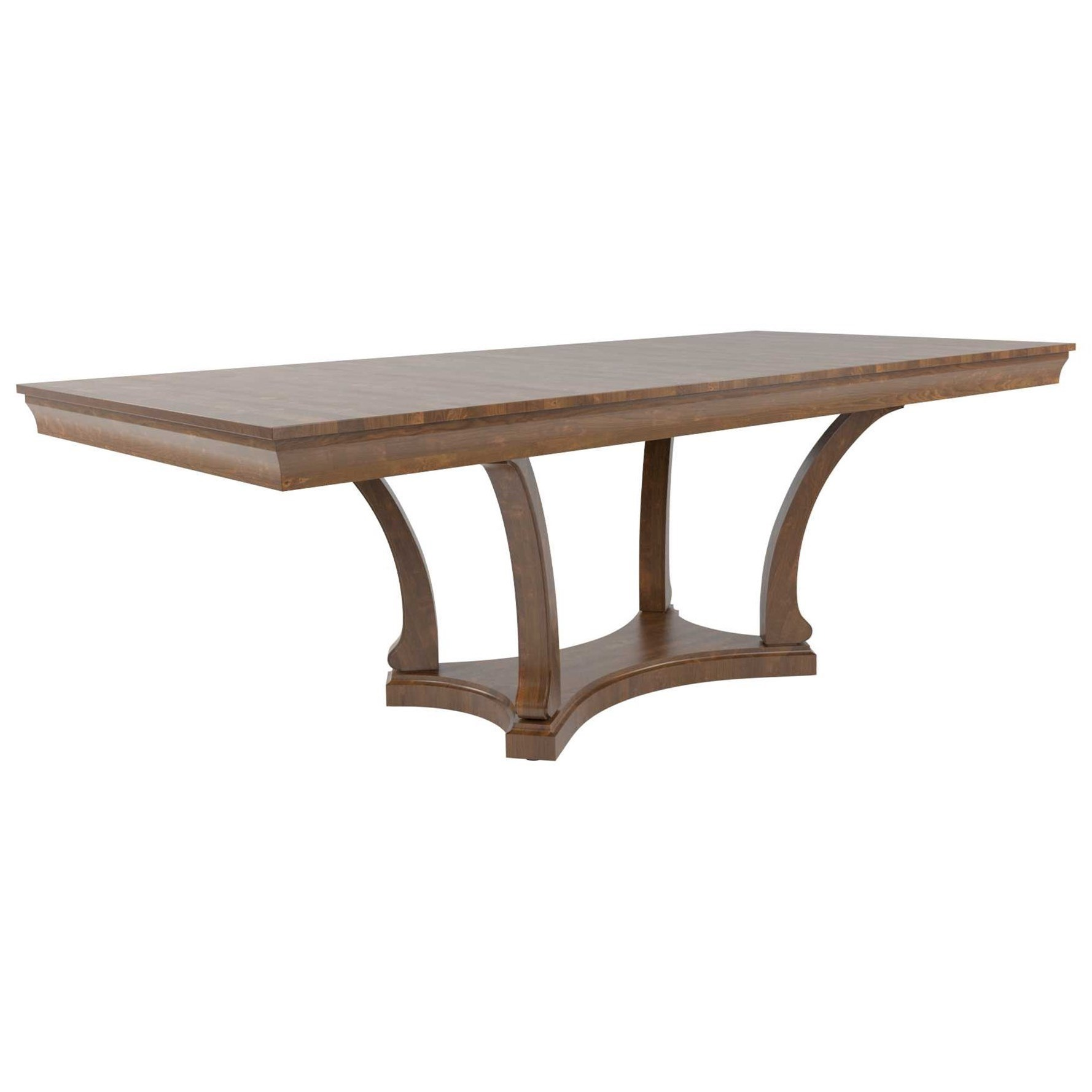 Classic Customizable Rectangular Dining Table by Canadel at Jordan's Home Furnishings