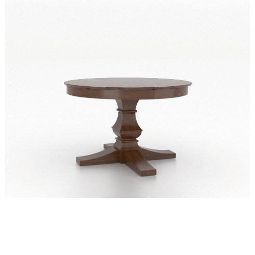 Classic Customizable Dining Table by Canadel at Dinette Depot