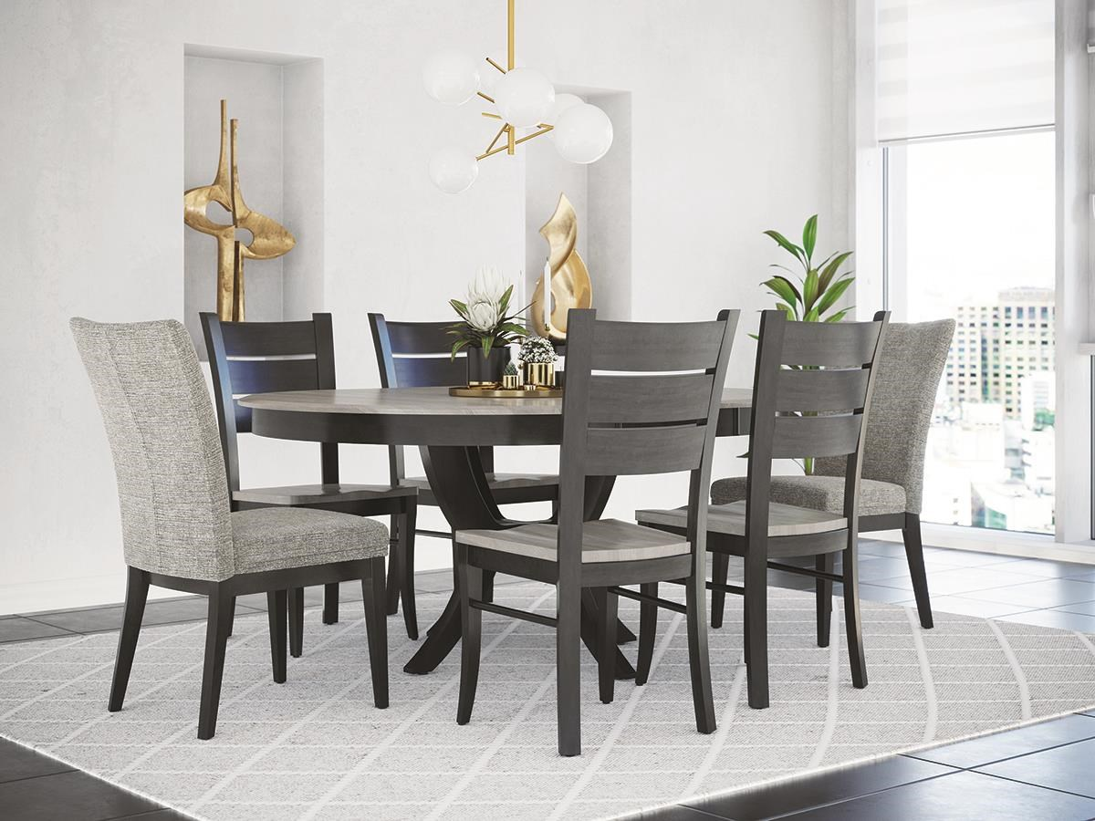Classic 5 Piece Dining Set by Canadel at Darvin Furniture
