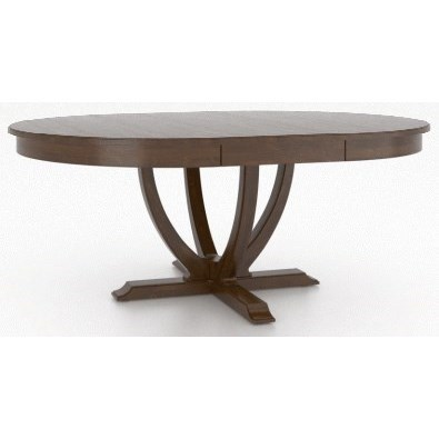 Classic Customizable Round/Oval Dining Table by Canadel at Steger's Furniture