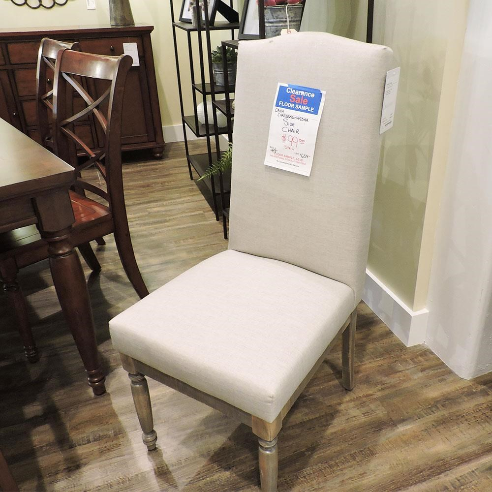 Clearance Dining Side Chair by Canadel at Belfort Furniture