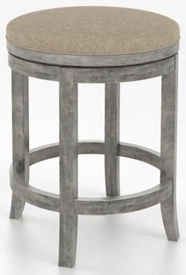 """Core Core 26"""" Round Swivel Stool by Canadel at Sprintz Furniture"""