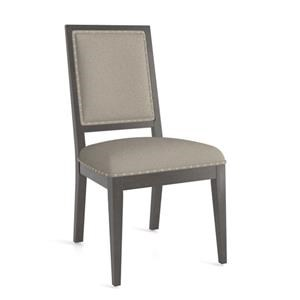 Core Upholstered Side Chair with Nailhead Tr