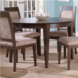 Customizable Round Table with Legs