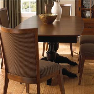 Canadel Custom Dining <b>Customizable</b> Boat Shape Table