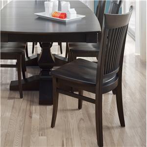 Customizable Side Chair - Wood Seat