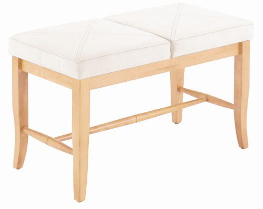 Custom Dining <b>Customizable</b> Upholstered Bench by Canadel at Saugerties Furniture Mart