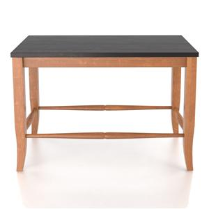 "Canadel Custom Dining <b>Customizable</b> Wooden Seat Bench, 24"""
