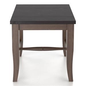 "Canadel Custom Dining <b>Customizable</b> Wooden Seat Bench, 18"""