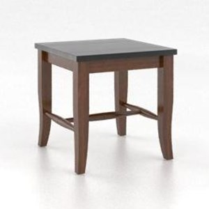 """Customizable Wooden Seat Bench, 18"""""""