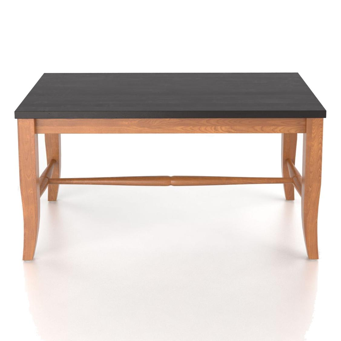 """Custom Dining <b>Customizable</b> Wooden Seat Bench, 18"""" by Canadel at Jordan's Home Furnishings"""