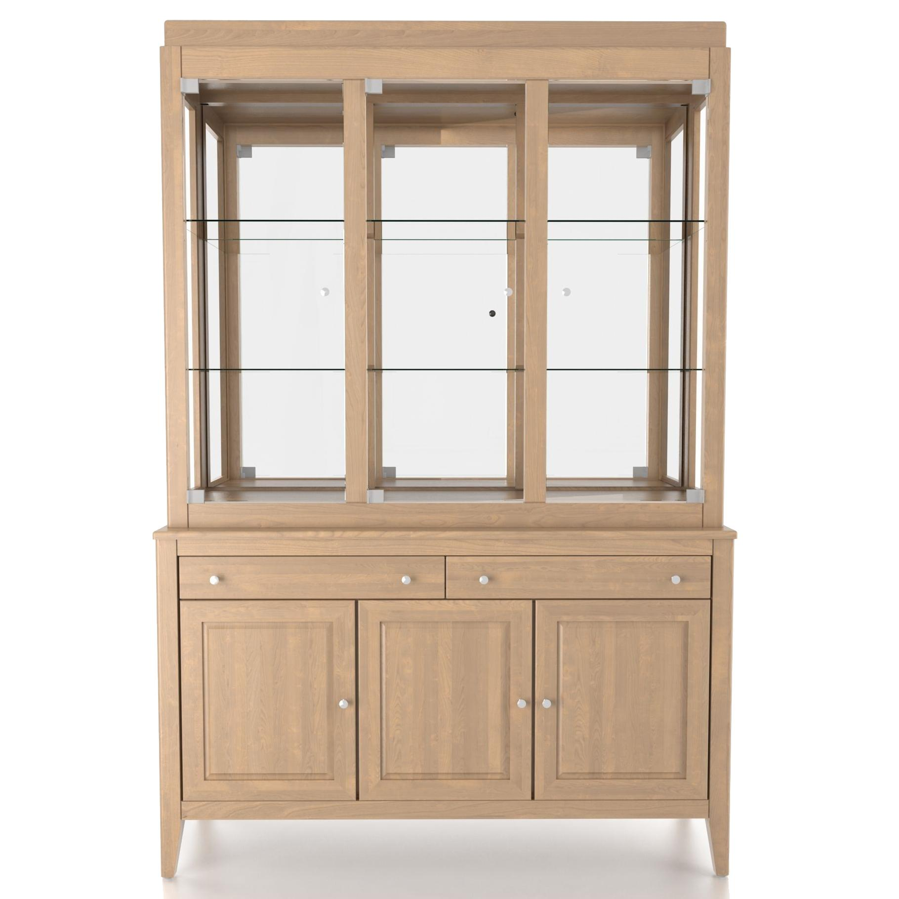 Custom Dining <b>Customizable</b> 54 Inch Hutch & Buffet by Canadel at Saugerties Furniture Mart