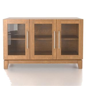 Customizable Buffet with 3 Tempered Glass Doors