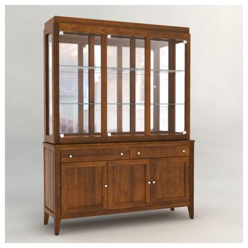 Custom Dining <b>Customizable</b> 60 Inch Hutch & Buffet by Canadel at Saugerties Furniture Mart