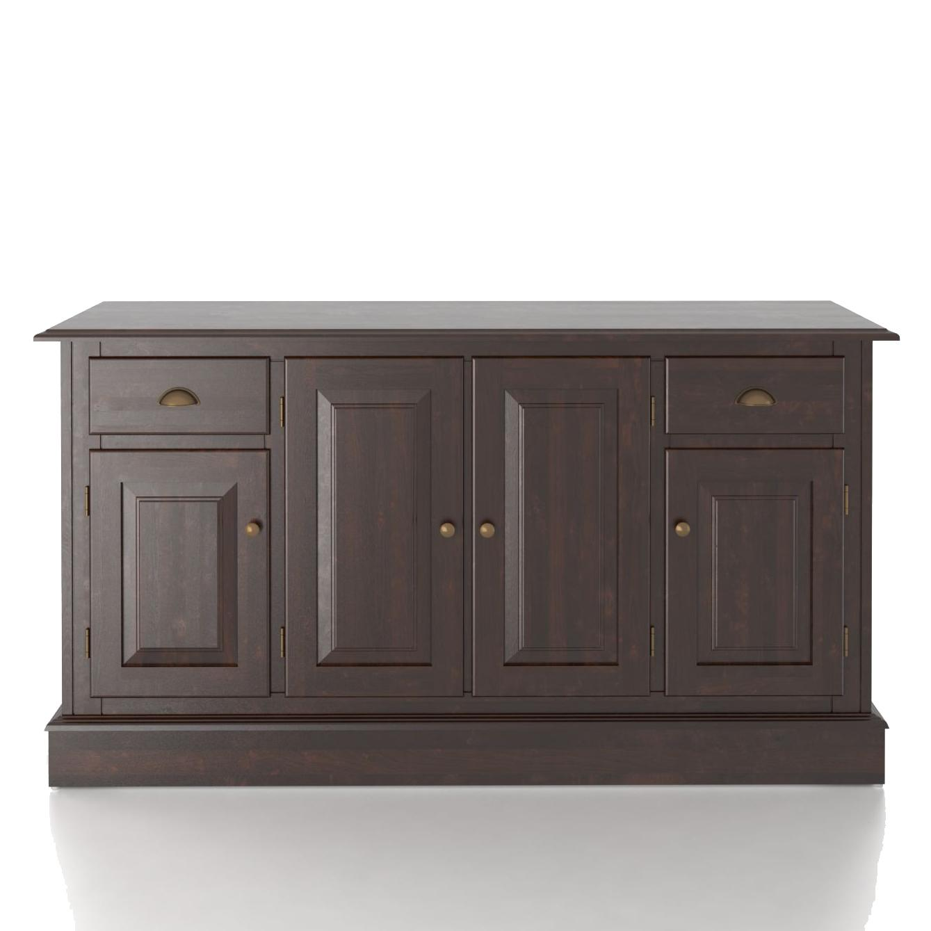 Custom Dining <b>Customizable</b> 60 Inch Buffet by Canadel at Saugerties Furniture Mart