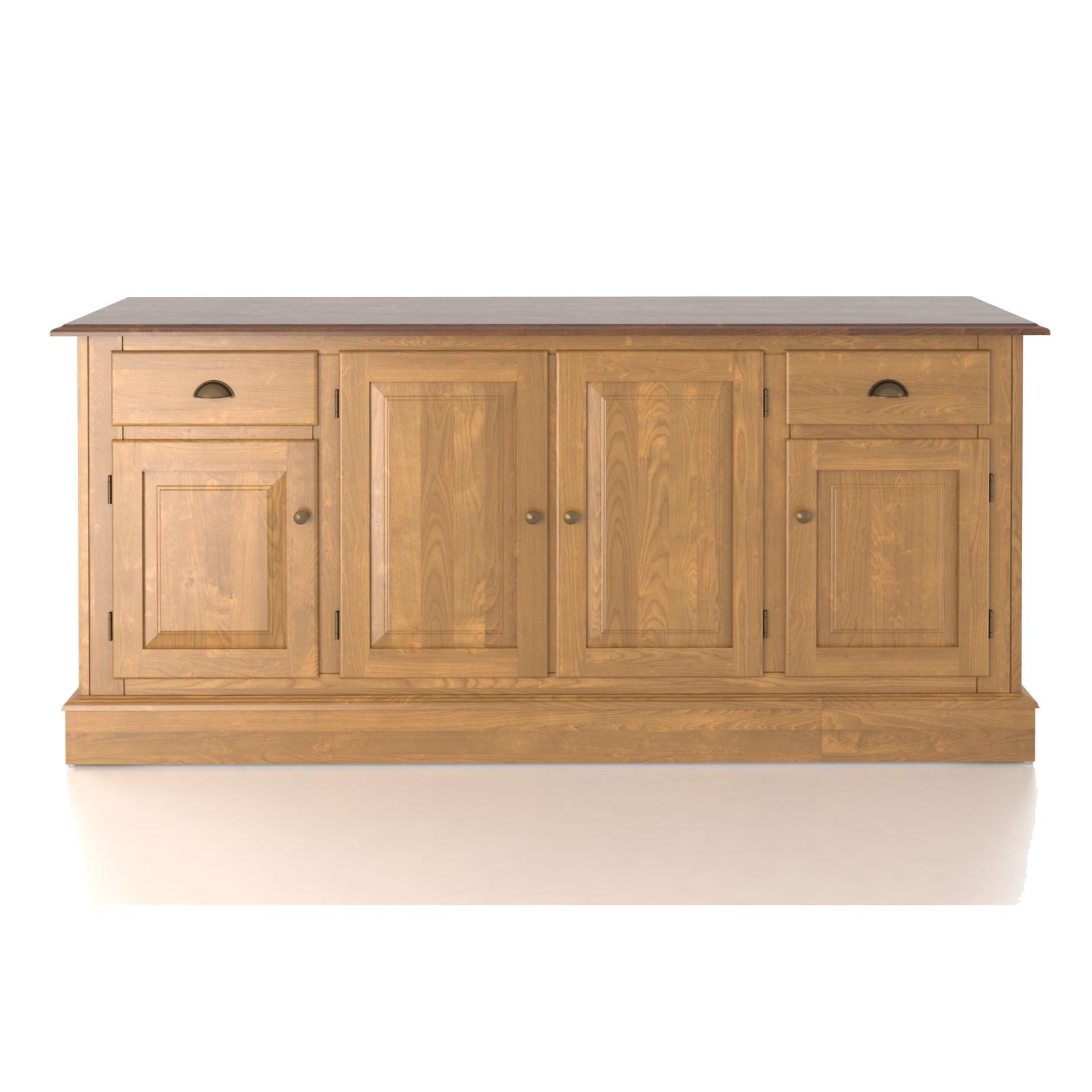Custom Dining <b>Customizable</b> 72 Inch Buffet by Canadel at Saugerties Furniture Mart