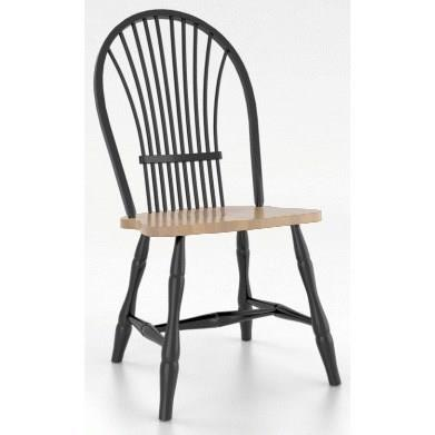 Custom Dining <b>Customizable</b> Windsor Side Chair by Canadel at Saugerties Furniture Mart
