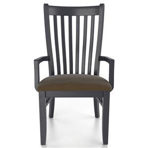 Canadel Custom Dining <b>Customizable</b> Upholstered Arm Chair