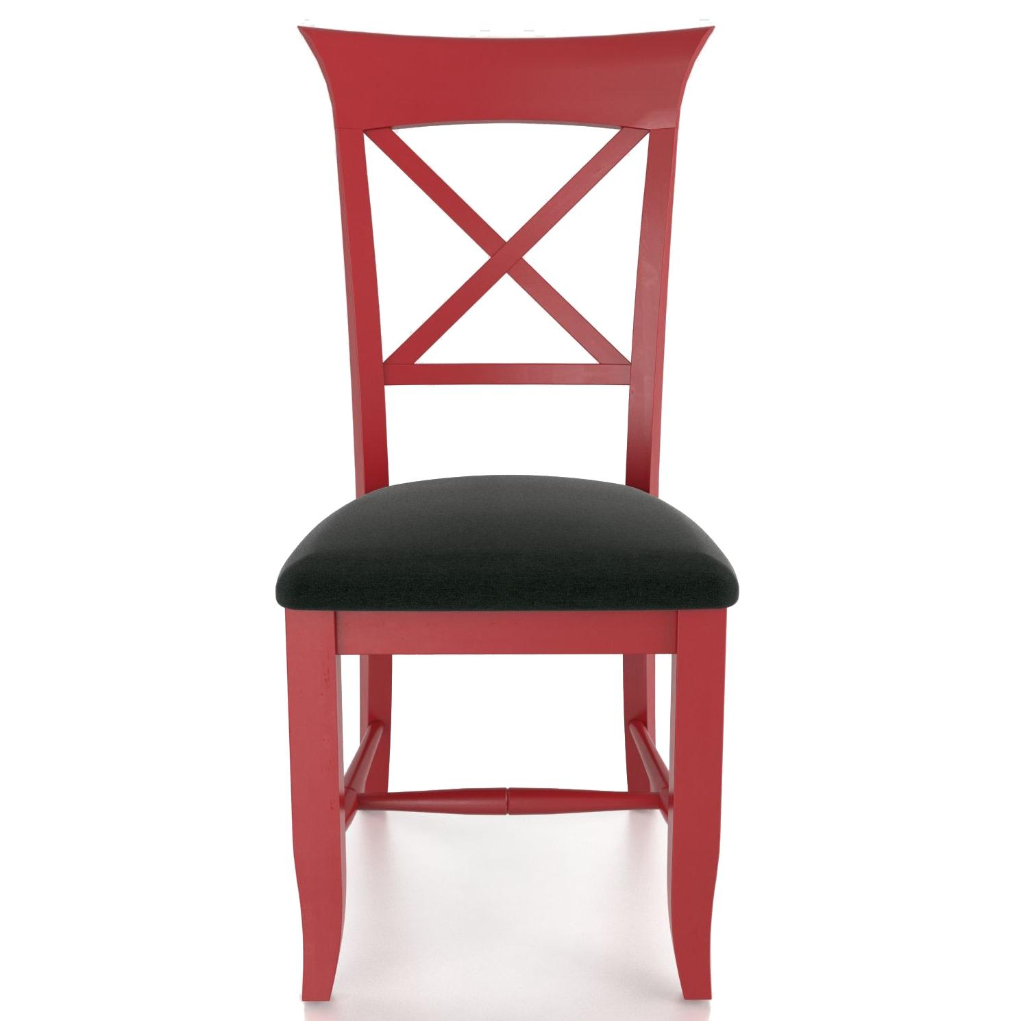 Custom Dining <b>Customizable</b> Upholstered Side Chair by Canadel at Saugerties Furniture Mart
