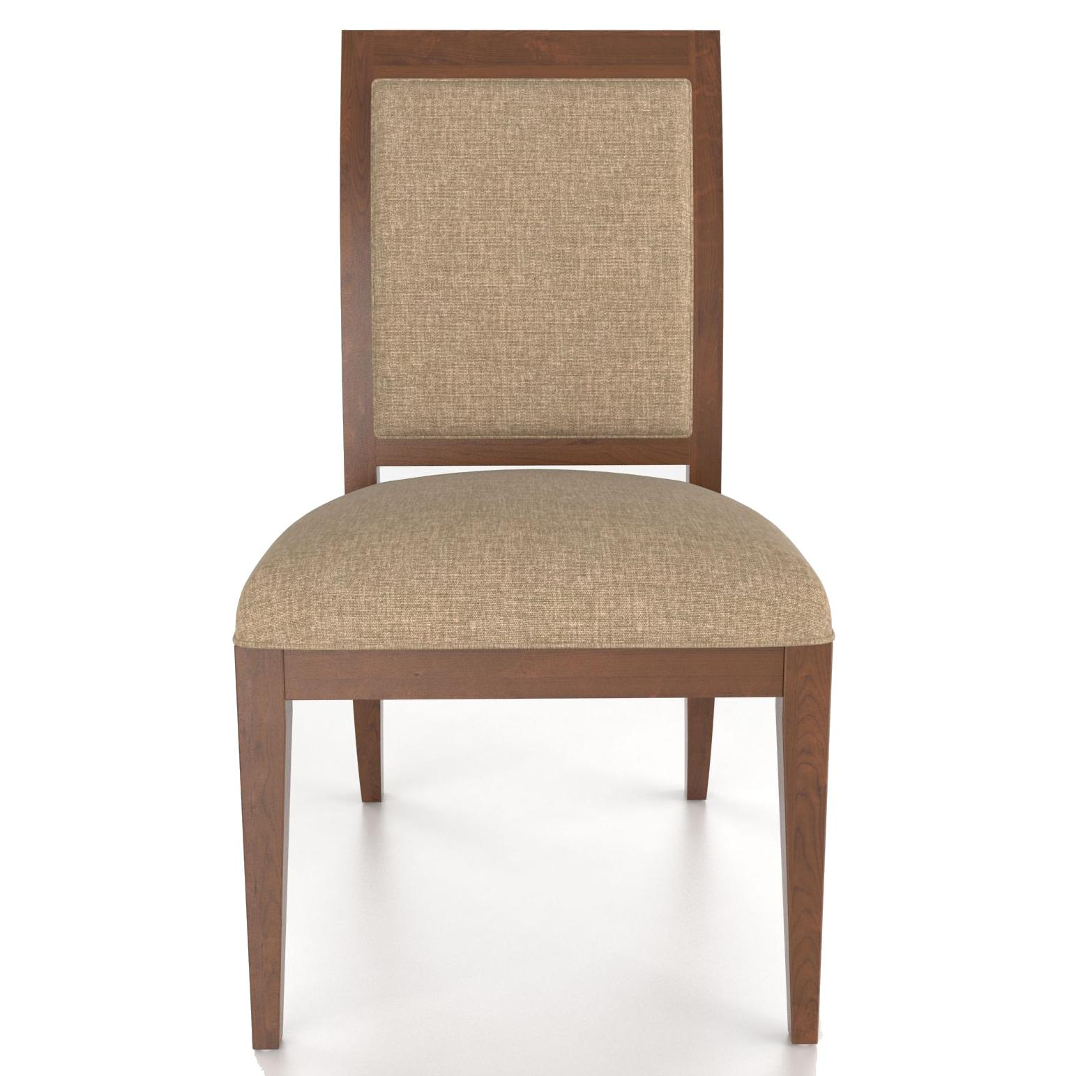 Custom Dining Customizable Upholstered Side Chair by Canadel at Steger's Furniture
