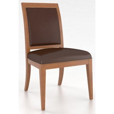 Custom Dining <b>Customizable</b> Upholstered Side Chair by Canadel at Suburban Furniture