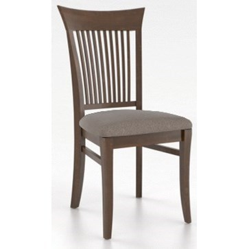 Custom Dining Customizable Upholstered Side Chair by Canadel at Saugerties Furniture Mart