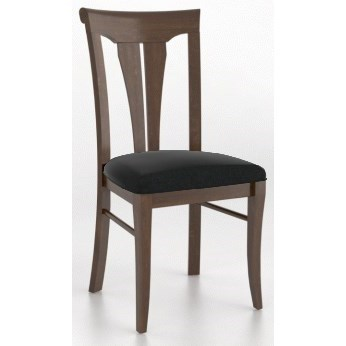 Custom Dining <b>Customizable</b> Upholstered Side Chair by Canadel at Jordan's Home Furnishings