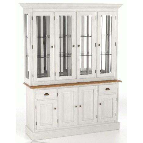 Core - Custom Dining Customizable Buffet & Hutch by Canadel at Jacksonville Furniture Mart