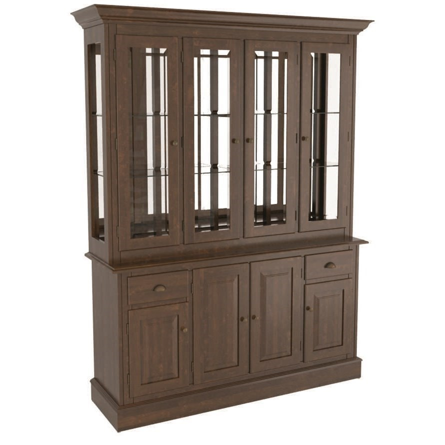 Core - Custom Dining Customizable Buffet & Hutch by Canadel at Dinette Depot