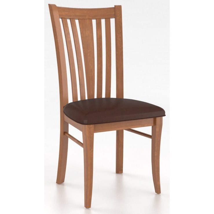 Core - Custom Dining Customizable Dining Side Chair by Canadel at Jordan's Home Furnishings