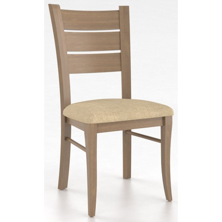 Core - Custom Dining Customizable Side Chair by Canadel at Dinette Depot
