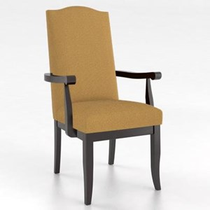Customizable Upholstered Arm Chair