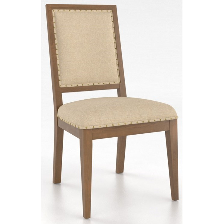 Core - Custom Dining Customizable Side Chair by Canadel at Williams & Kay