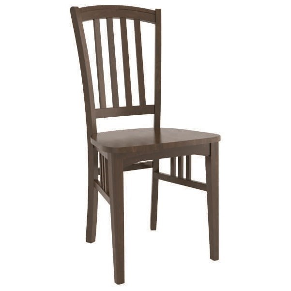 Core - Custom Dining Customizable Dining Side Chair by Canadel at Steger's Furniture
